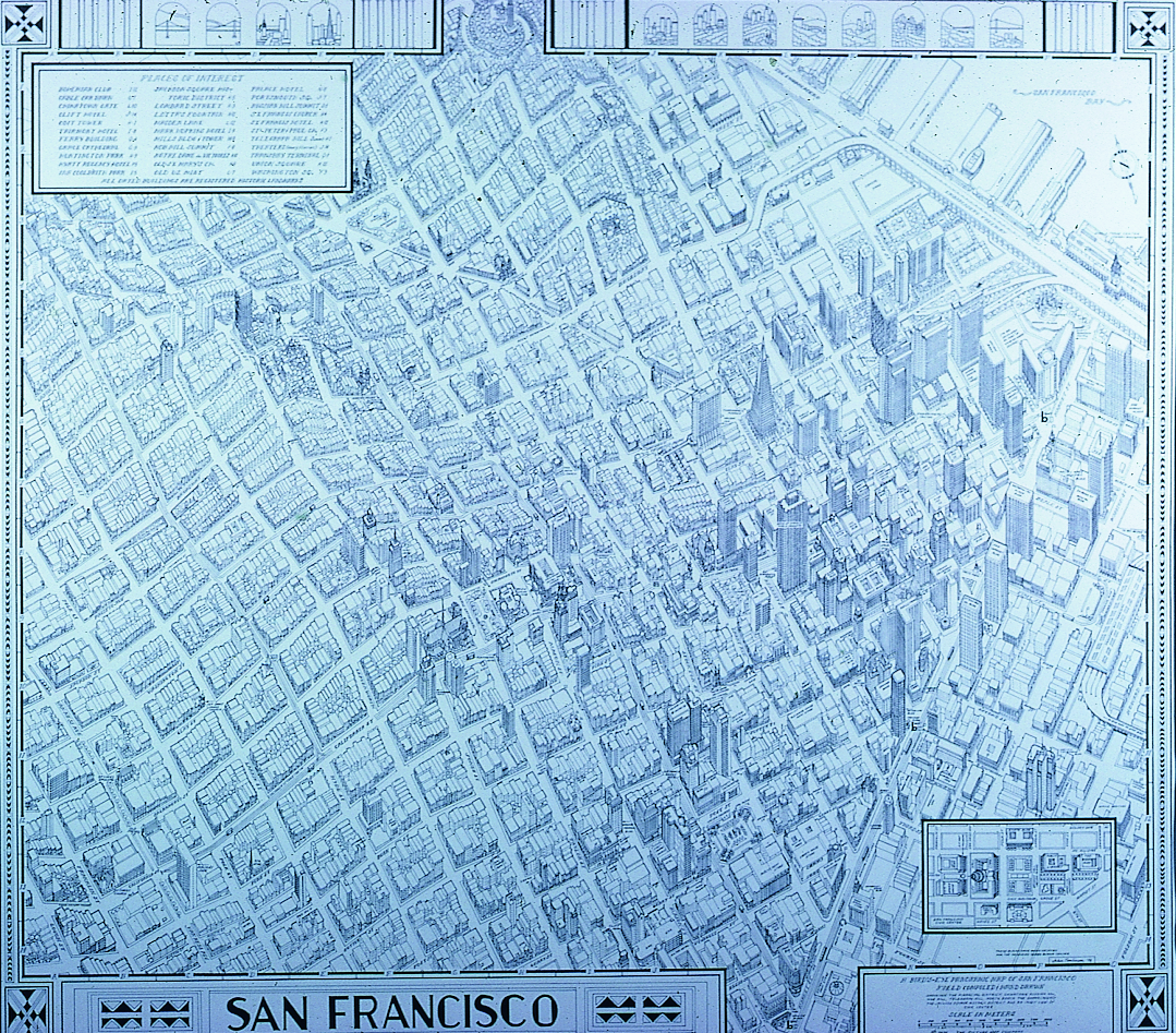 Downtown San Francisco Map - Earth - A Work in Progress on